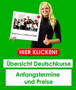 Unsere Deutschkurse in Bremen