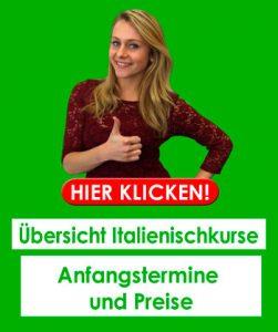 Unsere Italienischkurse in Bremen